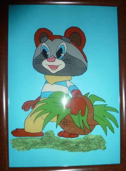 Крошка енот картинки для детей нарисованные, колокольчики