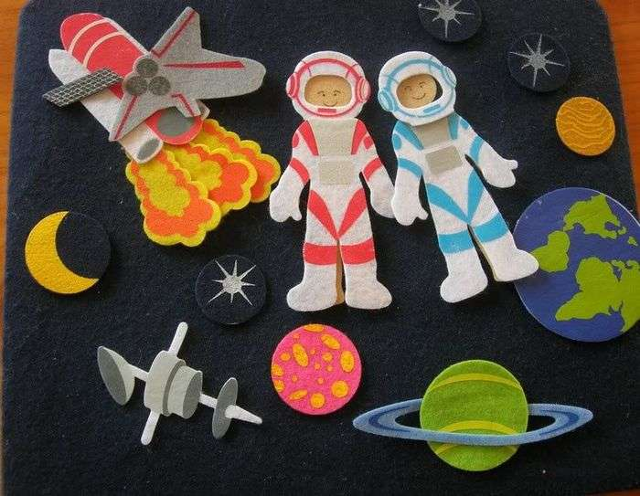Поделки своими руками для детей на тему космос