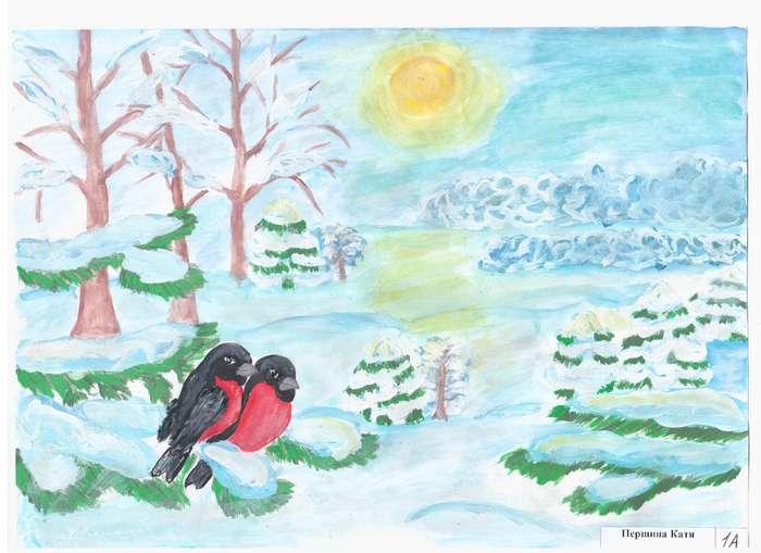 нежные цвета рисунки на тему зимушка зима фото ландшафтном дизайне для