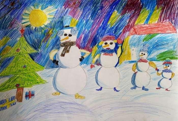 картинки карандашом здравствуй зимушка зима испытали