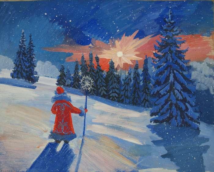 Картинка однажды в студеную зимнюю пору